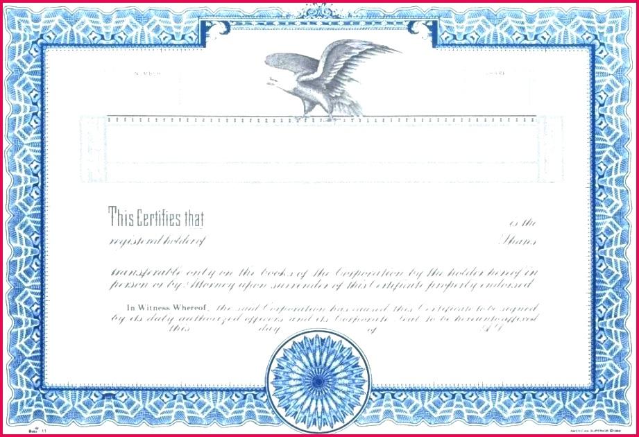free stock certificate template share corporate templates pany australian