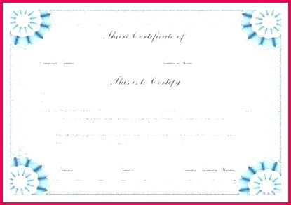 stock certificate template word amazing post c return type free share e best of unique