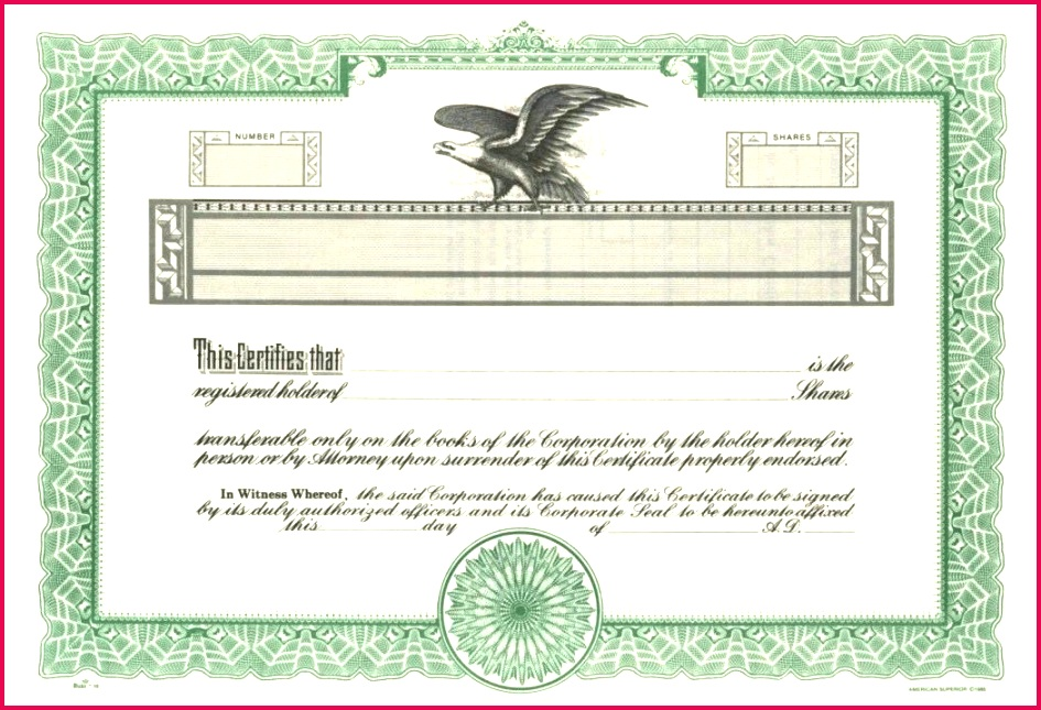print stock certificate template blank certificates printable templates for word