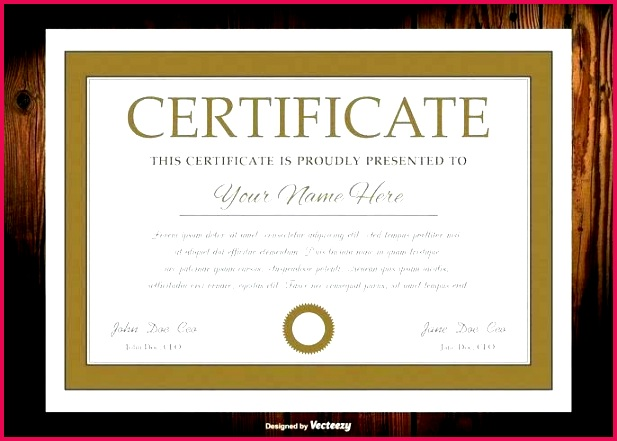 vector diploma certificate template frame border word