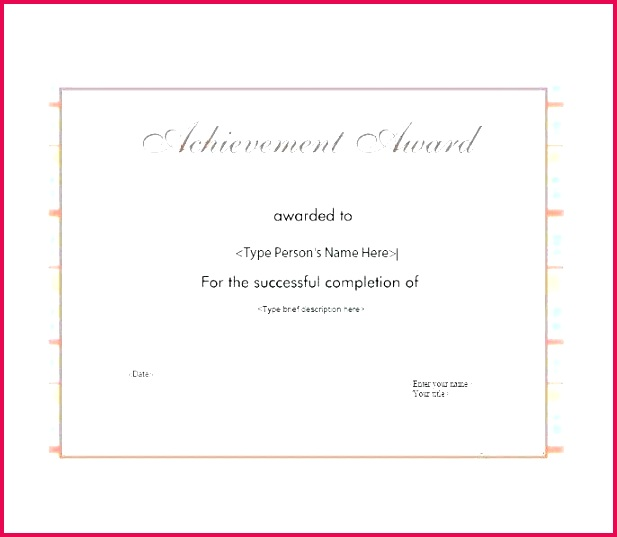 free award template t certificate printable fun templates for students achievement monster reviews te