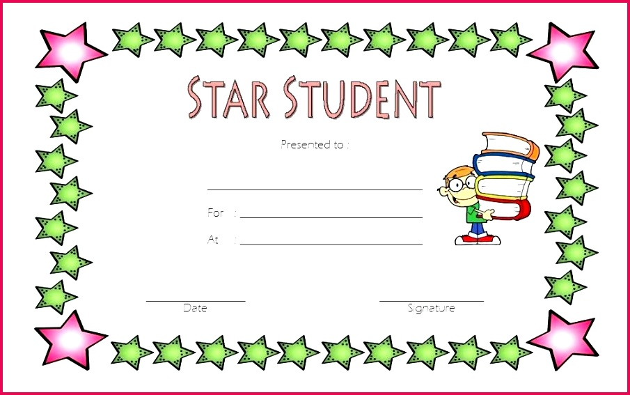 star student certificate templates super award printable shining template of the week free