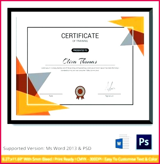 training certificate template free word workshop image large templates sample course of pletion