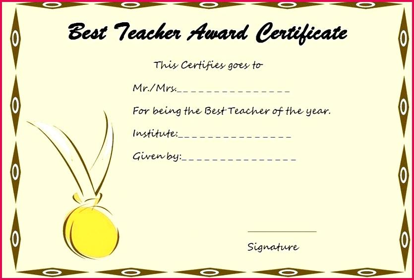 teacher appreciation certificate template teacher certificate template fake tefl certificate template