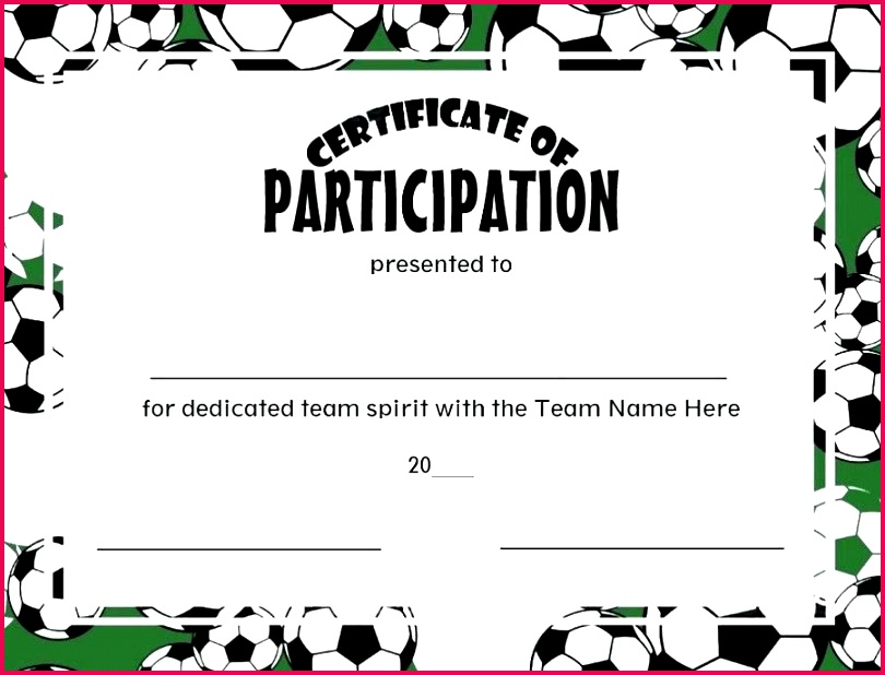 soccer certificates player pack award certificate template word mvp participation