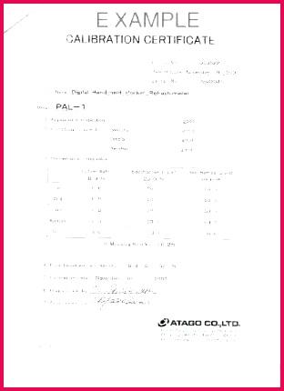 pressure test certificate template share certificate format pressure test certificate template calibration sample format new fresh temperature as share in calibration certificate format pdf