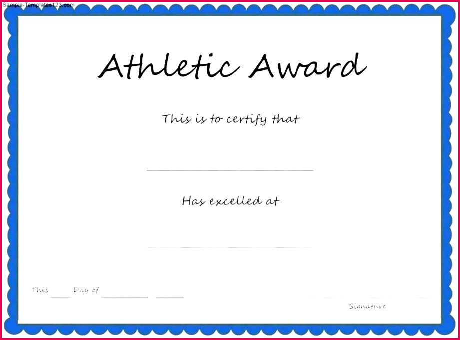 sports award template word certificate s awards and certificates templates funny free for document vector cer