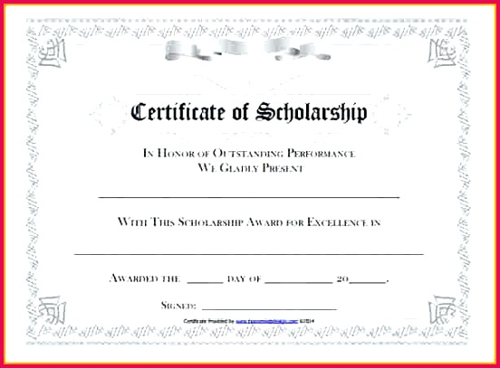 scholarship award certificate template memorial templates for word art images of