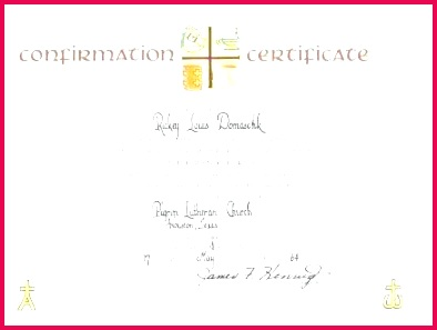 Baptism Certificate Template Catholic Word Free Professional Confirmation Certificate Template Lutheran Confirmation Certificate Template Medium Size