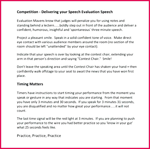 toastmaster evaluation template free word documents winning the toastmasters speech contest templates for