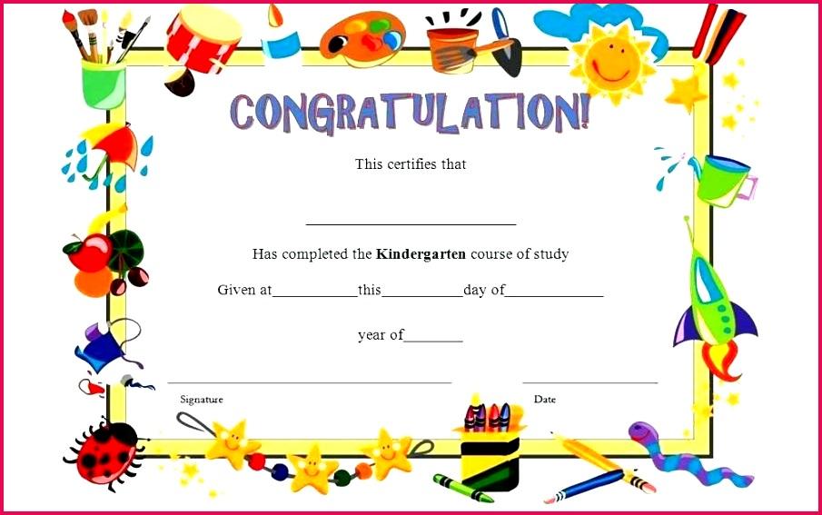 valedictorian award certificate template impressive pre kindergarten graduation harmonious