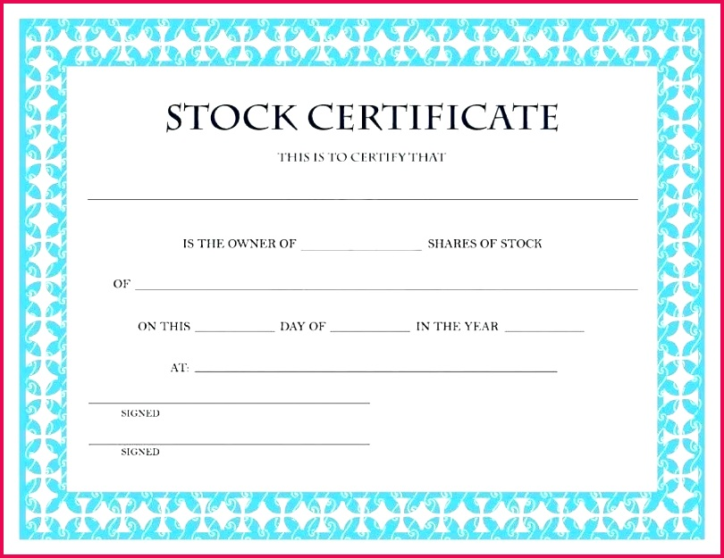ownership certificate templates property template of stock format free word lab for