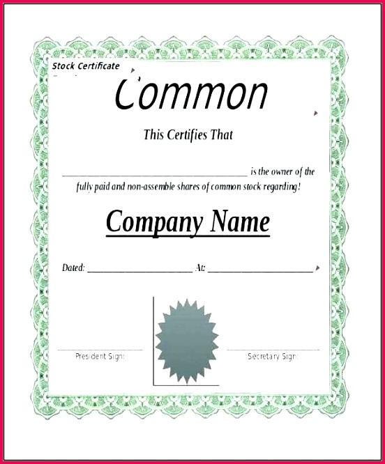 4 Uk Share Certificate Sample 41799 | FabTemplatez