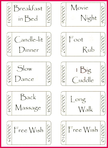 valentine coupon template free best of romantic printable templates love coupons valentines day for word va