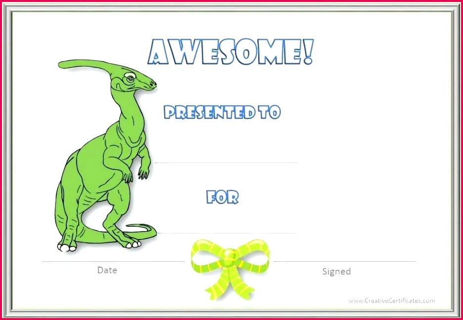 certificate template free printable of pletion customizable certificates for kids