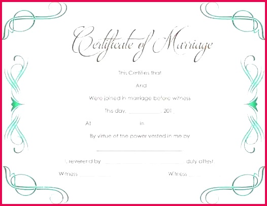 printable marriage cate un plicated wedding template free vector t certificate templates