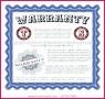 3 Warranty Certificate Template Free Download