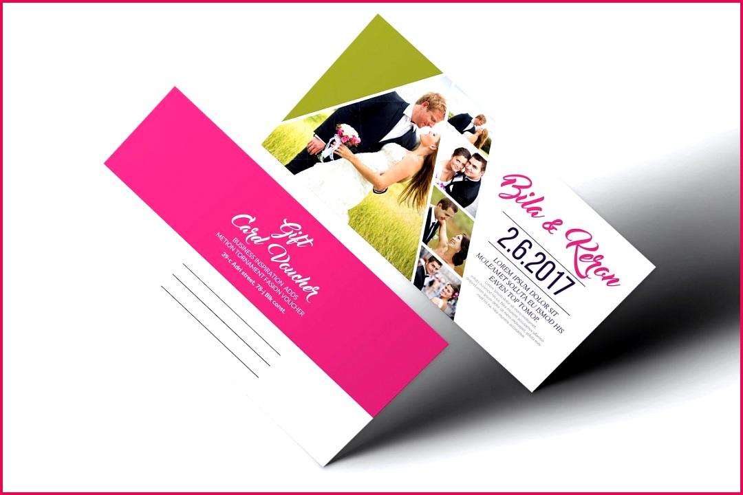 Save Wedding Gift Voucher Template
