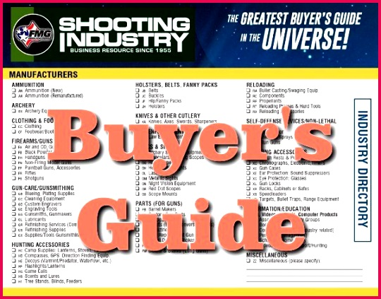 This month s issue of Shooting Industry magazine has a huge 46 Page directory of gun industry panies Free Digital Directory of Gun Industry panies
