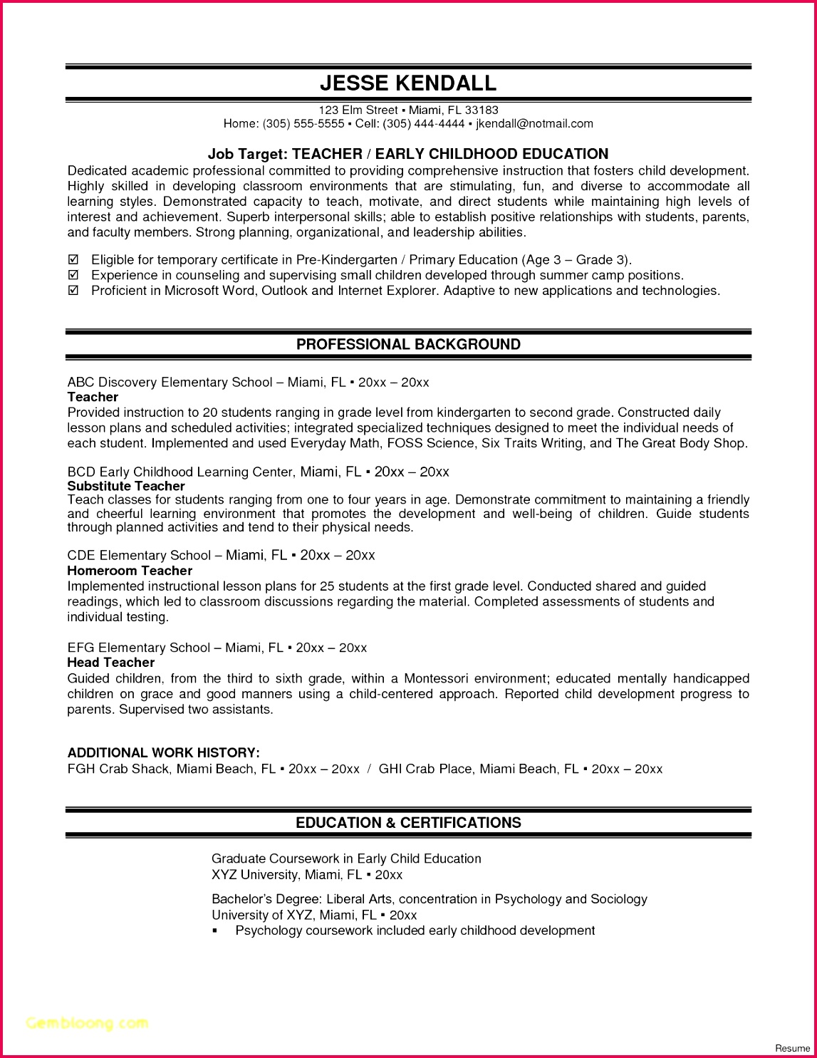 certificate of career letter new sample resume for teacher fresh graduate new awesome cover letter of certificate of career letter