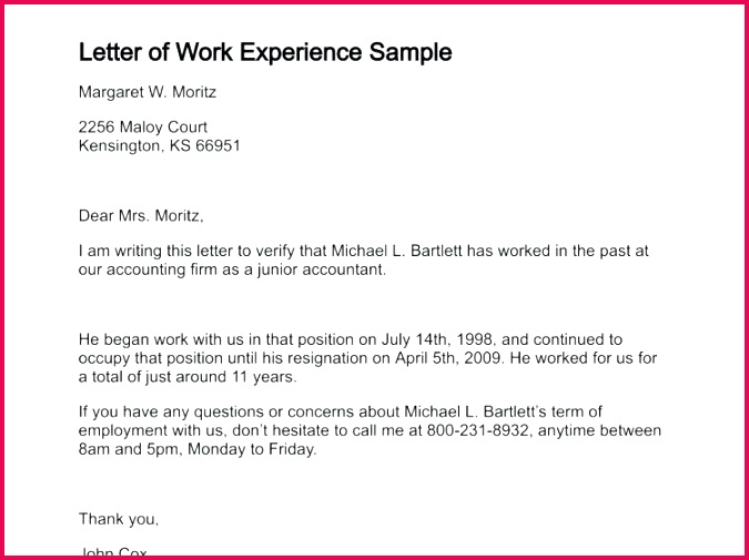 work experience letter format volunteer certificate employment certification for visa