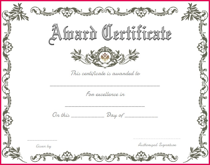 sports awards certificate template best of achievement award certificate templates free fascinating turabian of sports awards certificate template
