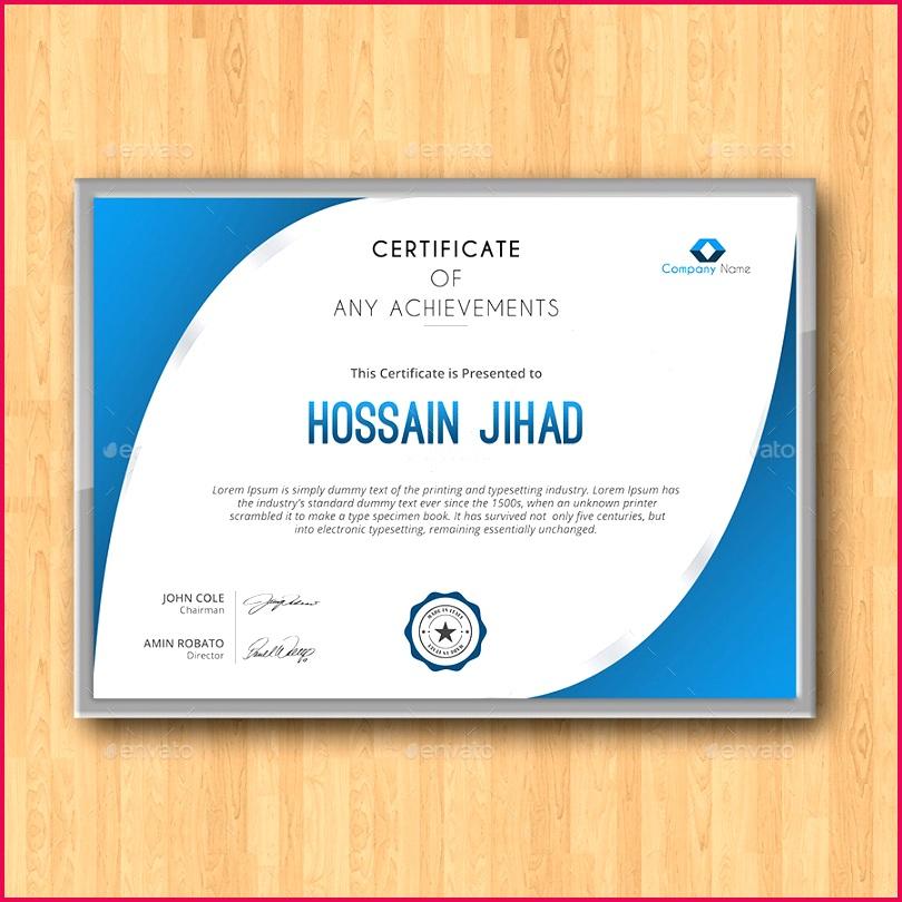 Modern Certificates Templates