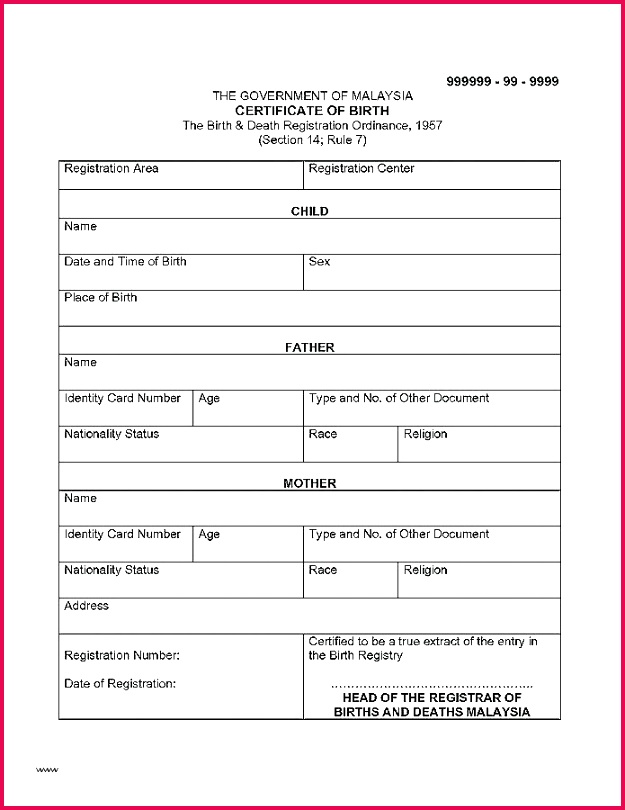 birth certificate translation template scrapheap marriage free for of with certific