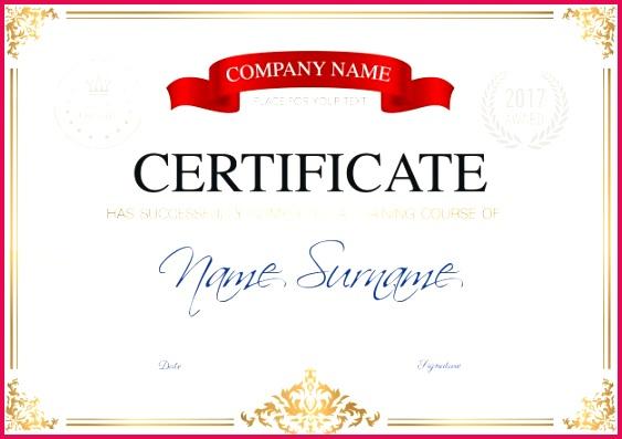 certificate pletion template 1284