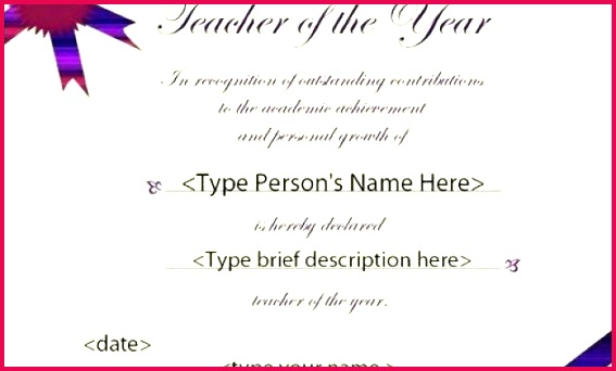 teacher of the year award template free printable certificates timeline templates for google slides certificate teachers prin