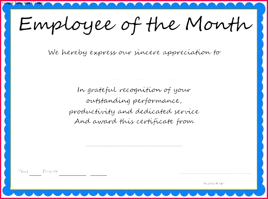 employee appreciation certificate template free copy elegant award for good performance printable certificates of e