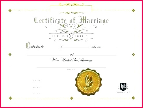 marriage certificate template formats examples in word excel best of printable certificates advanced awesome wedding free t c