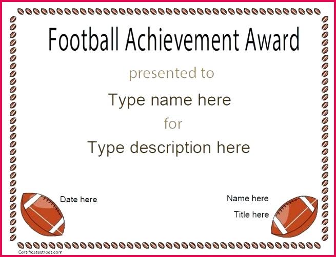 football template free printable certificates them or print kit psd football template free