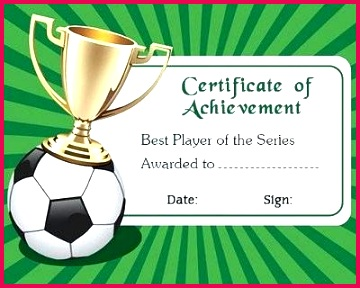 soccer award certificate templates free cute creative ideas you can choose from template printable