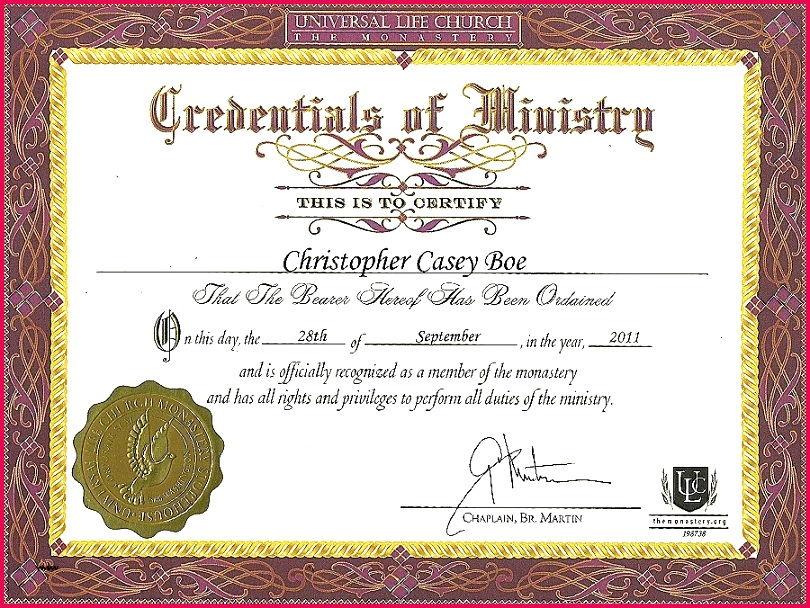 57 astonishing ordination certificate template tips free 5c283ce8756af
