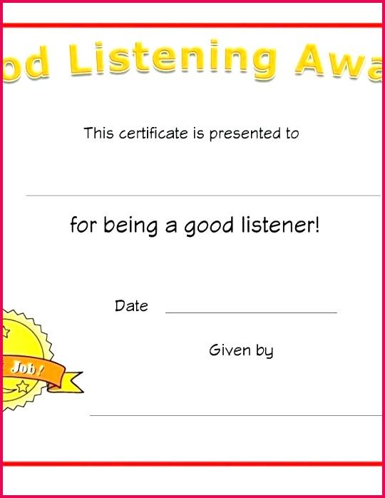 awards for kindergarten unique award certificate template free graduation certifi