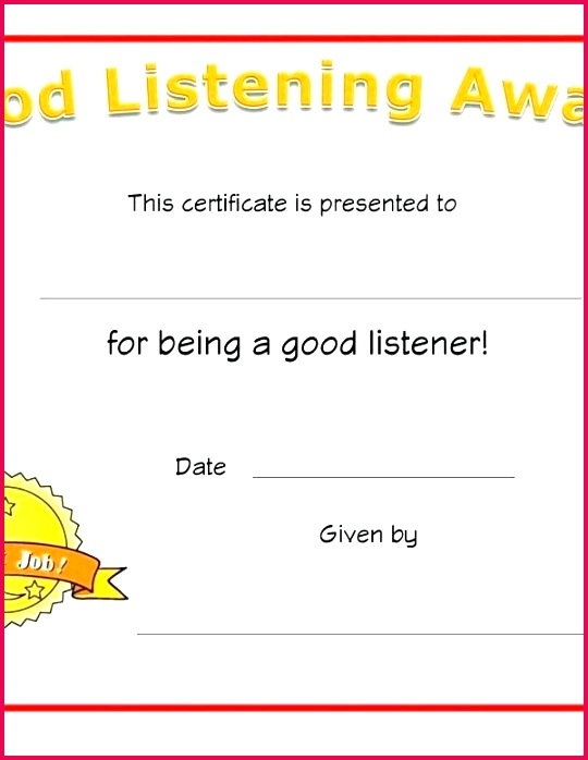 free printable award certificate templates blank leadership