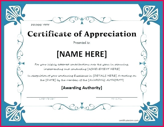 certificate of excellence template word certificate of appreciation for ms word at excellence certificate template word