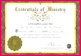 minister license certificate template template ordination certificate template of minister license certificate template 300x210