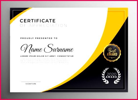 professional certificate template diploma award design 1017