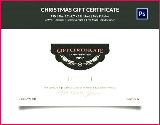 editable holiday lights t certificate template free photoshop psd