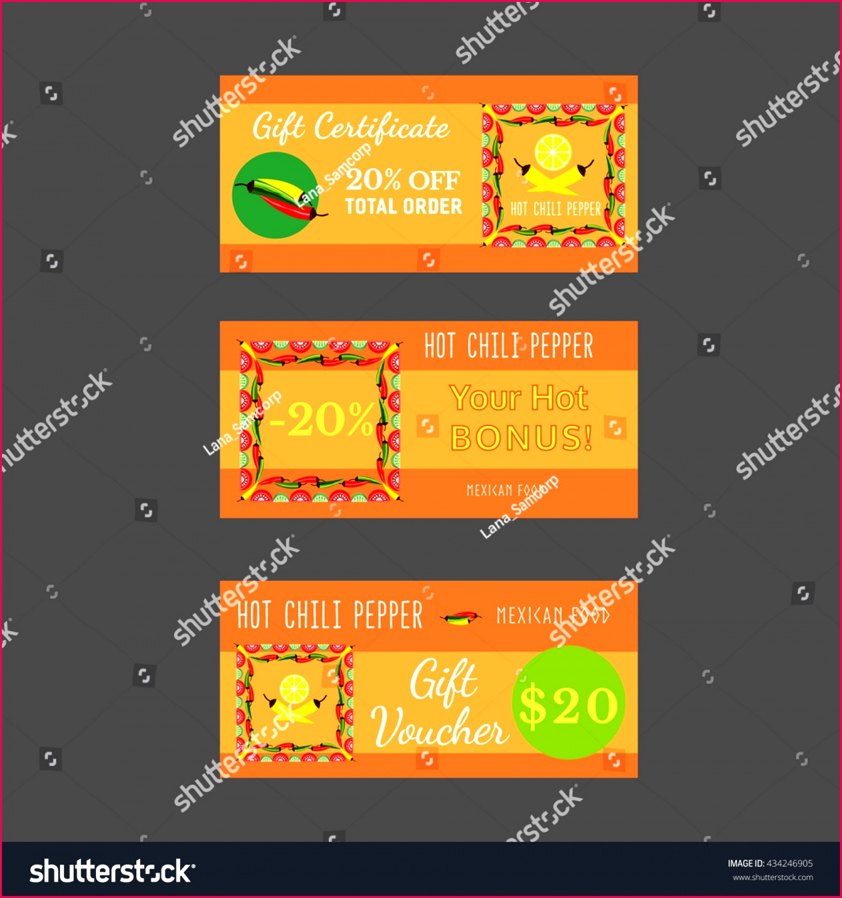 016 stock vector set of templates for mexican restaurant t certificate discount voucher bonus offer template 1920x2048