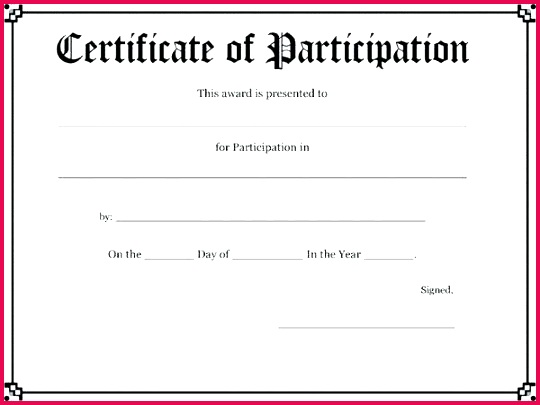 free participation certifica of atndance mpla sports certificate template basketball ms word fresh sport for
