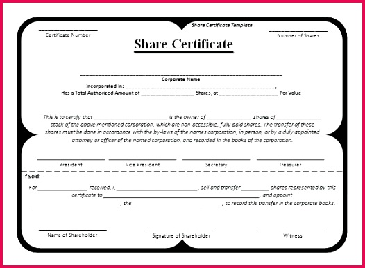 share certificate templates free word shareholder template uk stock vector certi